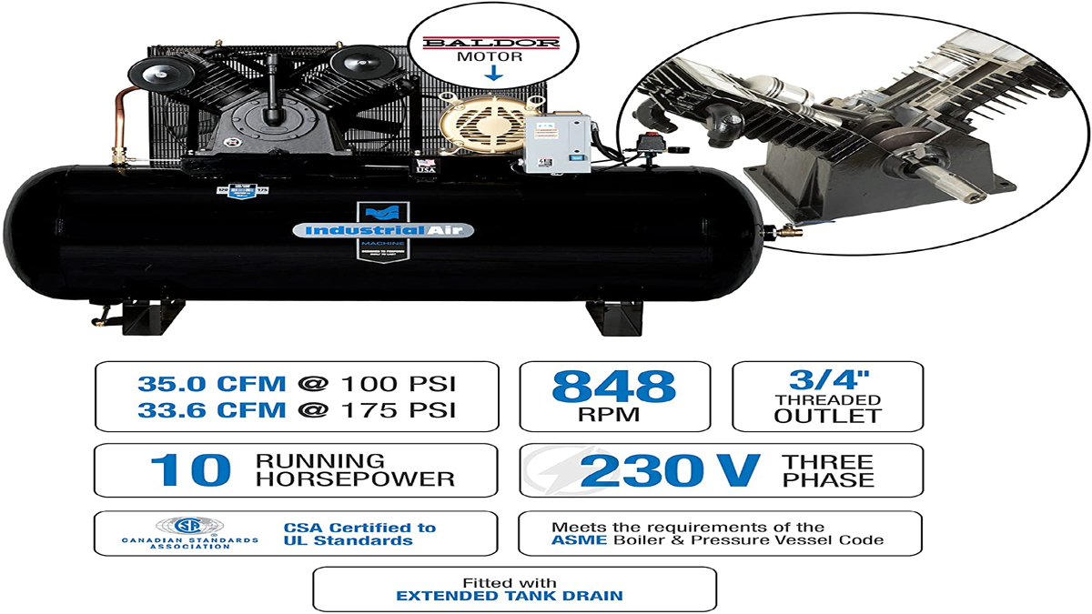 What Is A Two Stage Air Compressor