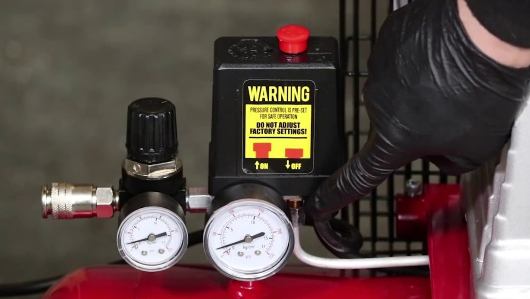 How to adjust Cut-Out Pressure on Air Compressor
